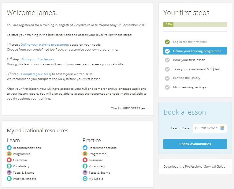 Platform learner space