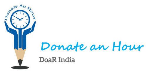 Donate an hour logo